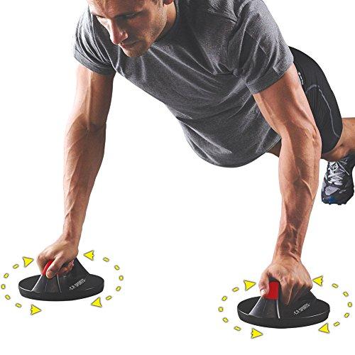 C.P. Sports 38792 - Empuñaduras rotativas hacer flexiones