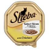 Sheba Tray Select Slices in Gravy with Chicken 100g x 16 275874