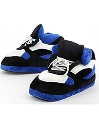 Sleeper'z – Zapatillas de casa originales y divertidas de hombre y mujer – Sneakers azul y negro