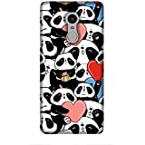 For Xiaomi Redmi 5 Panda Pattern ( Panda Pattern, Many Panda, Cartoon, Heart ) Printed Designer Back Case Cover By King Case