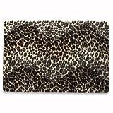 IC Intracom MANHATTAN Notebook Skin Geeignet fuer die meisten Widescreens bis zu 15.4 Zoll (39.116cm) Gepard Tieraufdruck auf synthetischem Fell