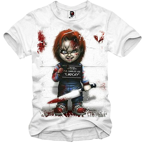 CHUCKY GHOSTBUSTERS CRITTERS JAWS HALLOWEEN SCARFACE EVIL XS-XXL (Chucky Für Halloween)