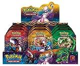 Pokemon Legendary EX otoño 2012 - Caja metálica con 1 carta de juego