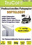 Beidseitig Inkjet Fotopapier