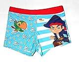 Disney Jake und die Nimmerlans Piraten Badehose Blau 104