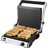 Unold Contact Table Grill press Grill Steak Black, Stainless steel
