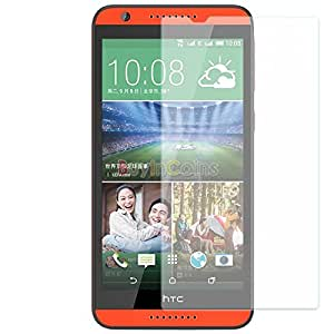 SNOOGG Pack of 6 HTC Desire 626G+ (Blue Lagoon, 8GB)Full Body Tempered Glass Screen Protector [ Full Body Edge to Edge ] [ Anti Scratch ] [ 2.5D Round Edge] [HD View] – White