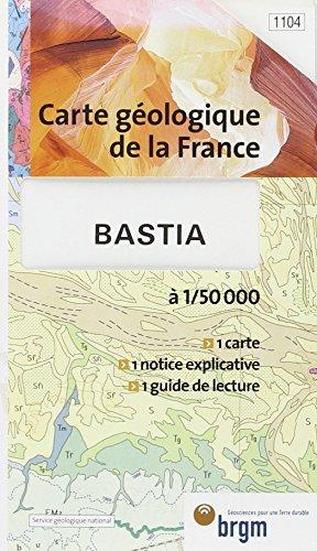 Carte géologique : Bastia