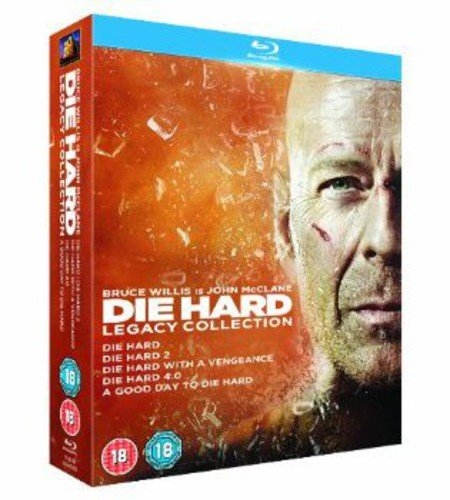 Die Hard 1-5 Legacy Collection [Blu-ray] [Import] (- Dvd-live Free, Die Hard)