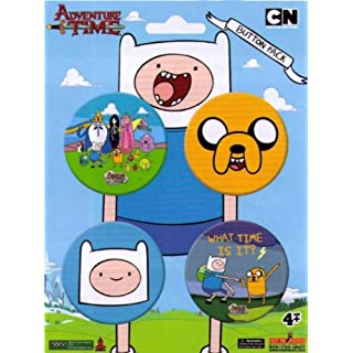 Adventure Time 4-Piece Button Pack