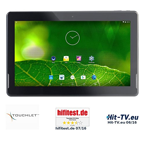 TOUCHLET Tablet PCs: 13,3″-Tablet-PC X13.Octa mit 8-Kern-CPU, Android 5.1, Full HD (Android-Tablet-PCs)