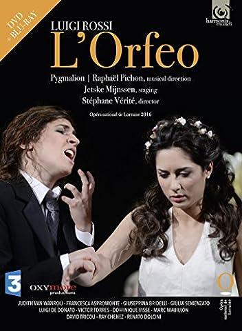 Luigi Rossi - L'Orfeo (DVD+Blu-Ray)