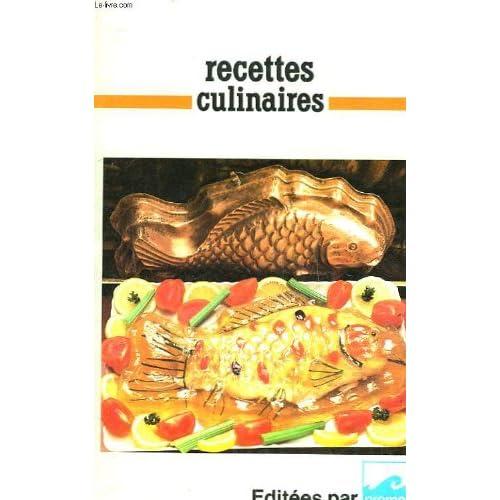 500 recettes culinaires pour poissons et crustaces