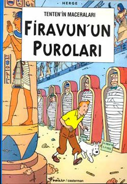 Les Aventures de Tintin : Les cigares du Pharaon / Tenten'in Maceralari : Firavun'un Purolari