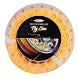 FLADEN Fishing 30m of MAXXIMUS Quality Weight Forward ORANGE FLOATING FLY LINE