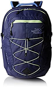 North Face Women's Borealis Backpack - Blue/Green/Crown Blue/Budding Green, One Size