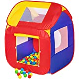 TecTake Tenda giochi per bambini + 200 Palle POP-UP gioco