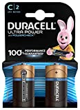 Duracell Ultra Power Piles Alcalines type C, Lot de 2
