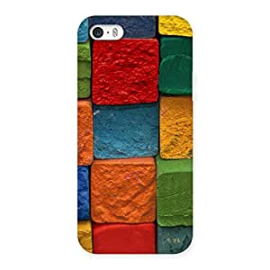 Cute Color Cubes Multicolor Back Case Cover for iPhone SE