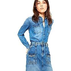 Pepe Jeans , Damen Pumps, blau - denim - Größe: XS