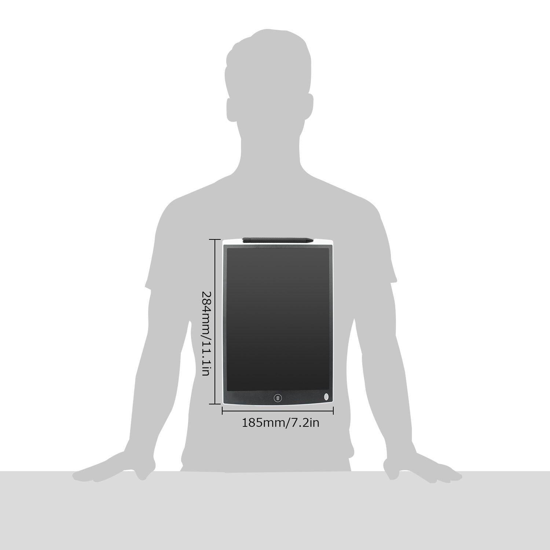 Grafiktabletts Digitale Schreibplatte Papierlos Elektronisches Writing Tablet Geschenk f/ür Kinder Malen B/üro Entwurf Notierung Grafik Funkprofi LCD Schreibtafeln 8.5 Zoll