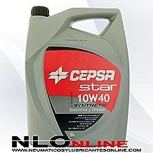 CEPSA Aceite semisintético 511983073 Star Synthetic 10 W40 para Motores de Coches, ...