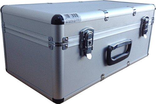 Hochwertige Transportkoffer aus Aluminium und ABS - schlagfest & ölbeständig - in verschiedenen Größen, Variante: Klein
