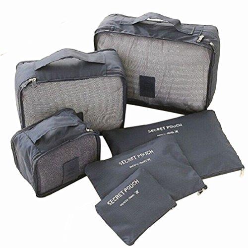 VORCOOL Kleidertaschen Set Kofferorganizer für Koffer Reisetasche Rucksack Sporttasche Wasserdichte...