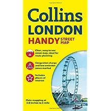 Londres Handy Street map 1:17.500. Collins. (Collins Handy Street Map)