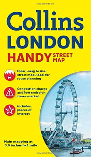 Londres Handy Street map 1:17.500. Collins. (Collins Handy Street Map)