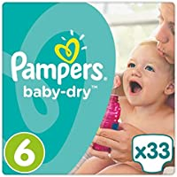 Pampers Baby Dry Taille 6Essential Lot 33couches