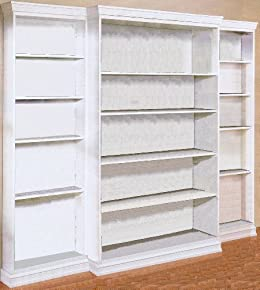 Build Your Own Bookcase Custom Library Bookshelves Any Size