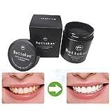 Malloom® 2017 neue Zahnaufhellung Pulver Natürliche Organische Aktivkohle Bambus Zahnpasta (A)
