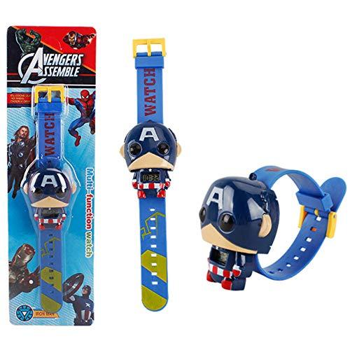 Reloj para niños, Juguete transformado de Maravilla, Reloj...