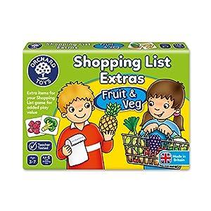Orchard_Toys - Juego Adicional de Tarjetas ilustradas de Frutas y Verduras para Shopping List