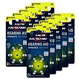 ANSMANN Typ 10 Hörgerätebatterien Gelb 60 Stück...