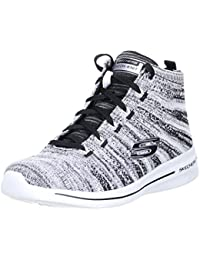 SKECHERS Burst 2.0-New Edge Damen Sneaker weiß/schwarz/grau