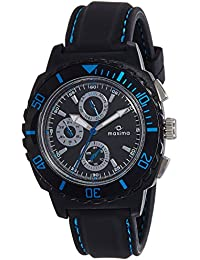 Maxima Hybrid Multifunction Black Dial Men -30771PPGN