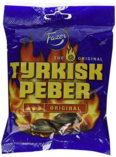 Fazer Tyrkisk Peber Original Hot Salmiak Und Pfeffer Bonbons (150 G)