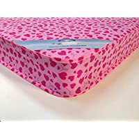 MR SLEEPS BEDS Loveheart mattress 3ft (90cm) Width /6ft3 (190 cm) Standard Length /6.5 inches Depth (16.5cm) Pink love heart