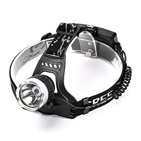 2000LM CREE XM-L T6 LED head light headlamp Flashlight Battery Operated Water Resistant 3 Switch Mode for Camping, Fishing, Hiking and Hunting SZ094