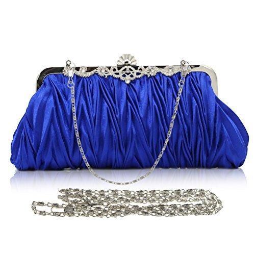 SUMAJU, Poschette giorno donna argento Silver Blue