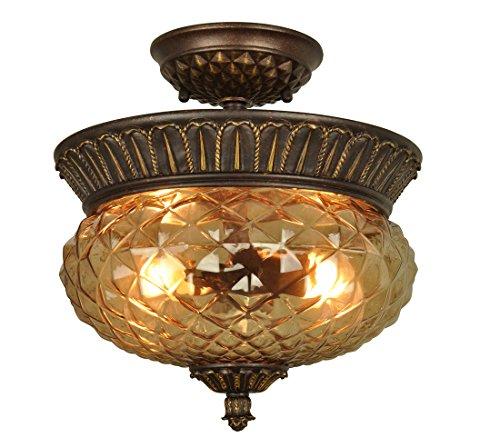 Lightoray LED Lámpara De Techo plafón Iiluminación La mitad ...