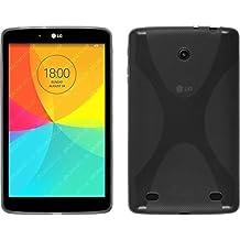 Funda de silicona para LG G Pad 8.0 - X-Style gris - Cover PhoneNatic Cubierta Case