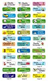 INDIGOS UG® Namensaufkleber - Sticker - Namen - 5x1