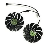 2 Pcs/lot T129215SU Graphics Card Fan for GIGABYTE GTX 1050Ti 1060 1070 RX 470 480 570 580 R9 380X