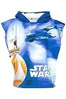 Star Wars poncho/asciugamano 50x 100cmMicrofibraOriginal prodotto con licenza
