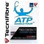 Tecnifibre Overgrip Pro Contact ATP 3er, Weiß, 0126220139300000