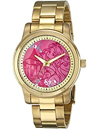 Disney Unisex W001820 Sleeping Beauty Analog Display Analog Quartz Sleeping Beauty Pink Watch