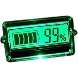 uniquegoods LCD Capacidad de la batería probador Indicador para Coche 12V 24V 48V de plomo-ácido litio nueva herramienta